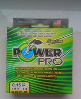 Plecionka Power Pro Hi-Vis Yellow 135m 0.15