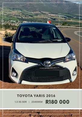 Toyota Yaris   |   1.3 XS   |   5DR   |   pearl white with black roof