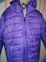 Зимняя куртка на девочку)