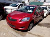 Toyota belta red color new plate number fresh imports 0