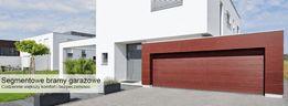Brama garażowa LPU40 Decograin Night Oak 4750x2000