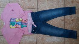 Стильный комплект:модный красивый свитшот кофта кофточка джинсы узкачи