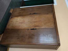 Przedwojenna antyczna szafa trzydrzwiowa