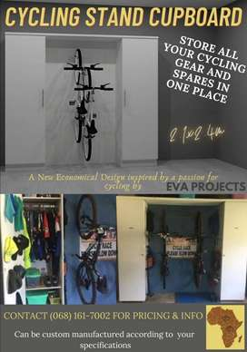 All-In-One Cycling Cupboard