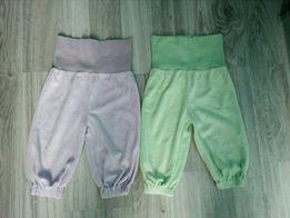Spodnie welurowe 74
