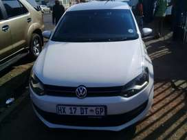 2013 Volkswagen Polo 6 1.6 With a leather seat Automatic