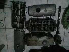 M10 parts. Cylinder head. Sub assembly. 363dcd weber carb