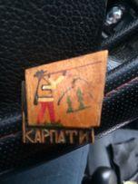 Значок деревяний