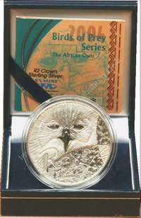 Image of 2004 Birds of Prey Edition 1oz Sterling Silver R2 coin