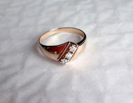 Sprzedam piękny złoty pierścionek 583 rozmiar 17