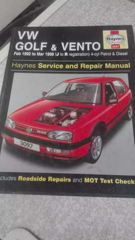 Golf/Jetta 3 Workshop Manual, Clean