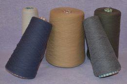 Пряжа для машинного или ручного вязания. Остатки.