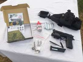 Pt 92 Co2 Blowback Pistol With Accessories