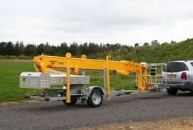 Total Access Hire - Cherry Pickers - 25M Omme trailer mounted