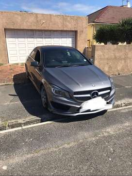 CLA 200 AMG Mercedes Benz   with all extras still in motor plan