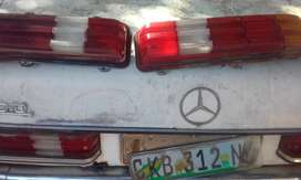'81vMercedes Benz 200 Tail lights