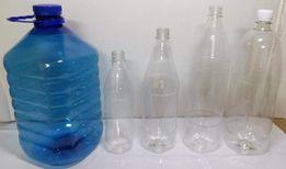 Пластиковая бутылка ПЭТ тара.