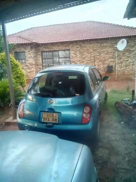 Car is in Witbank