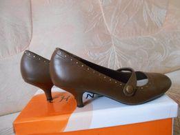 Туфли р.37 кожаные