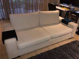 3 seater couch + arm chair