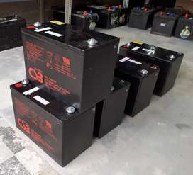 Reconditioned SOLAR batteries