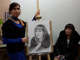 Обучение рисунку - курсы для поступления в худож.ВУЗ, дизайн