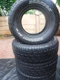 Image of 4xHankook Dynapro ATM tyres,90 percent tread!!265/70/16