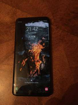 Samsung galaxy s9 plus 128g onboard memory and 6gig ram