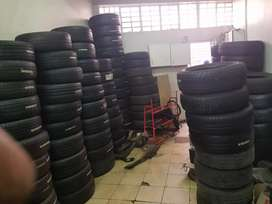 Selling all Numbers or sizes of Tyres both New and second hand tyres