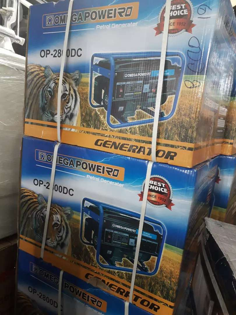2800DC Omega Pull Start generator new in a box for only R3500 0
