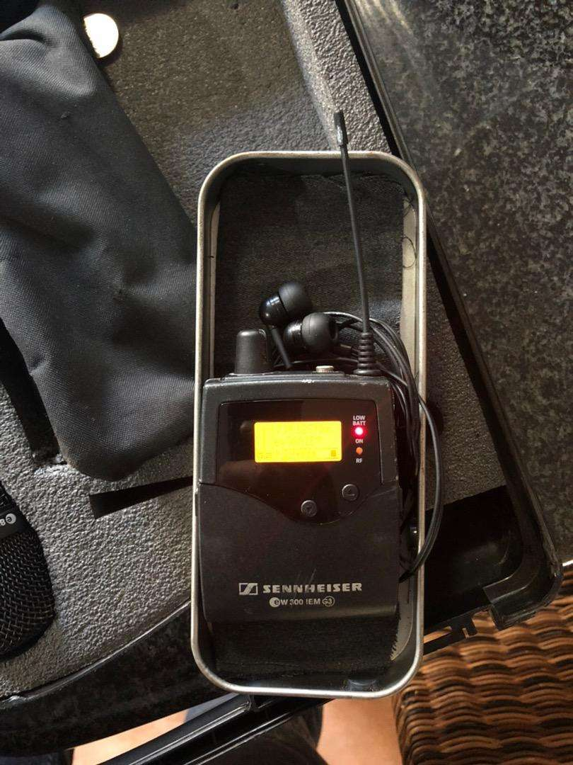 Sennheiser EW300 G3 in-ear monitor system in excellent condition 0