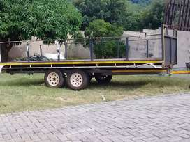 Truck and trailer for hire