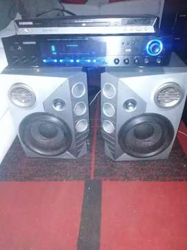 Amp ... speakers Nd dvd