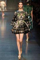 Sukienka Versace czarna z nadrukiem S/M
