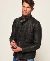Superdry Premium оригинал кожаная куртка размеры L