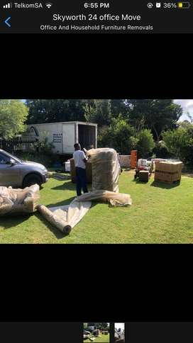 We offer house and office moves