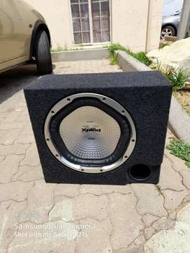 Sony subwoofer and box