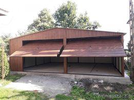 Garaże blaszane, Drewnopodobne orzech złoty dąb blaszaki metalowe