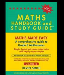 Grade 8 maths study guide