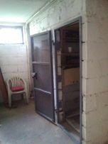 Drzwi do piwnicy,piwniczne,stalowe.,spawane.