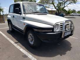 4x4 Ssangyong Korando SUV for sale