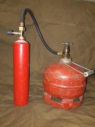 Огнетушитель СССР баллон 1л газовый литр переходник для заправки 5 про