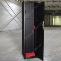 Оружейный сейф на 2 ружья, высотой 1320 мм.