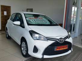 2015 TOYOTA YARIS 1.3XS 5DR WITH ONLY 111945KMS