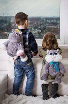 Рюкзаки детские плюшевые!рюкзак для 2-3 лет!Бесплатная доставка