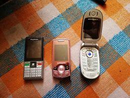 Zestaw telefonów komórkowych