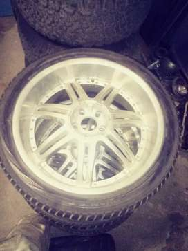 "22"" Rims and tyers"