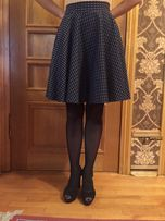 Темно-синяя юбка VOVK