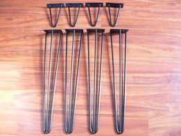 Hairpin legs 3 pręty, metalowe nogi na wymiar