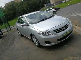 2009 TOYOTA COROLLA PROFESSIONAL 1.4 MANUAL
